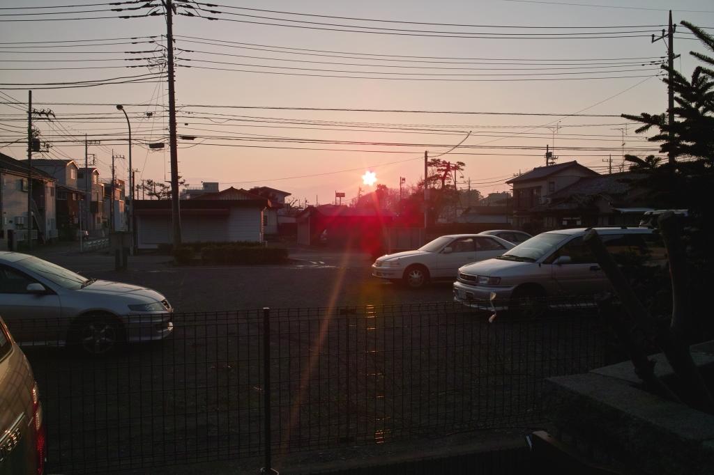 DP1と太陽光(f/9.0)