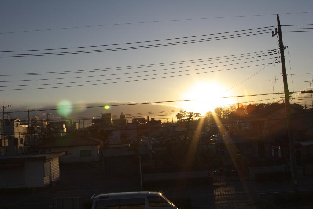 EOS20Dと太陽光