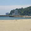熱海の砂浜