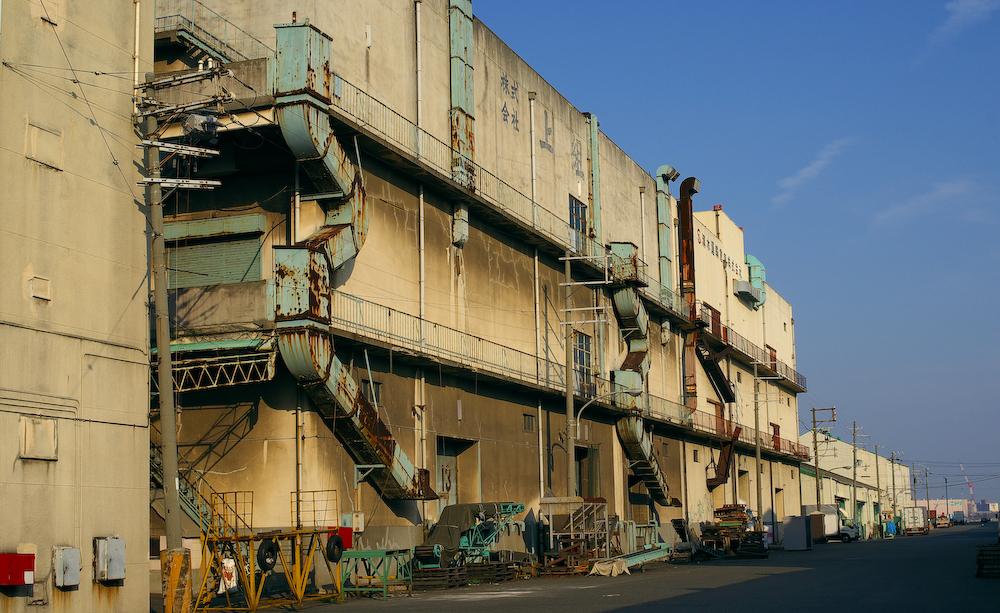 兵庫港 倉庫
