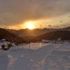 実家の冬景色