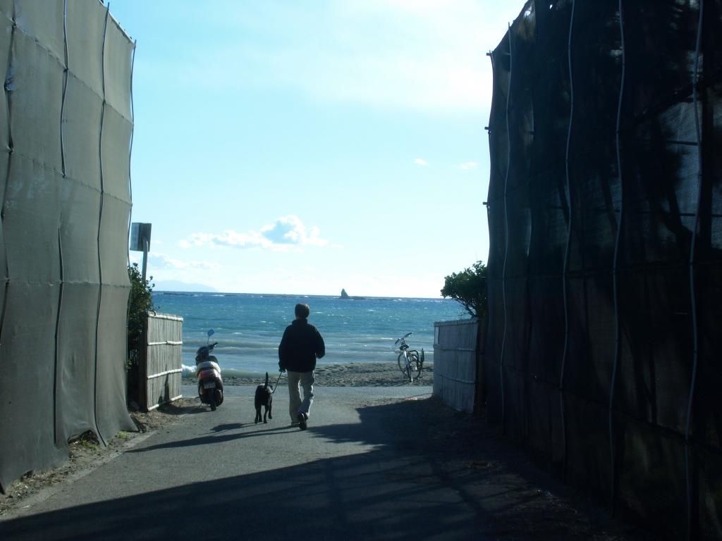 海への入り口