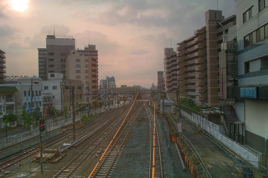 平野駅から