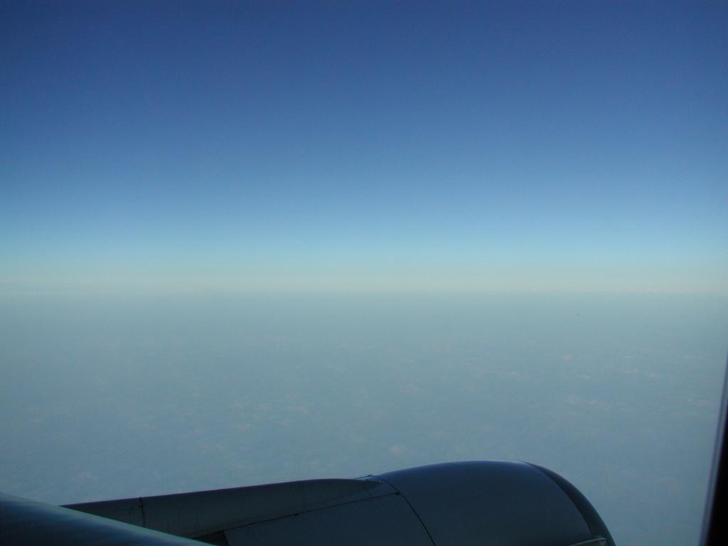 雲の上には
