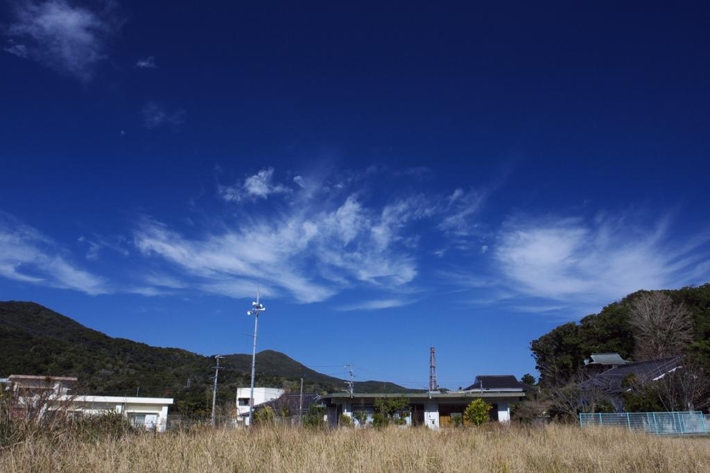 田舎の青空