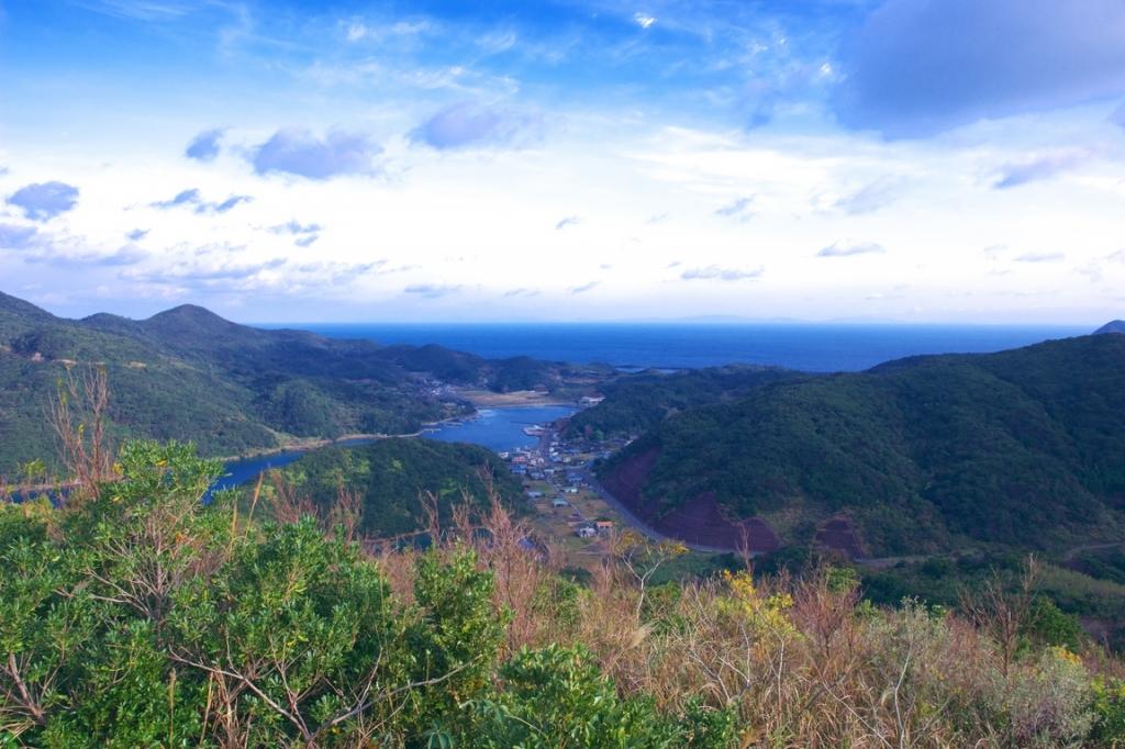 甑島の風景 浦内