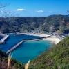 甑島の風景 江石