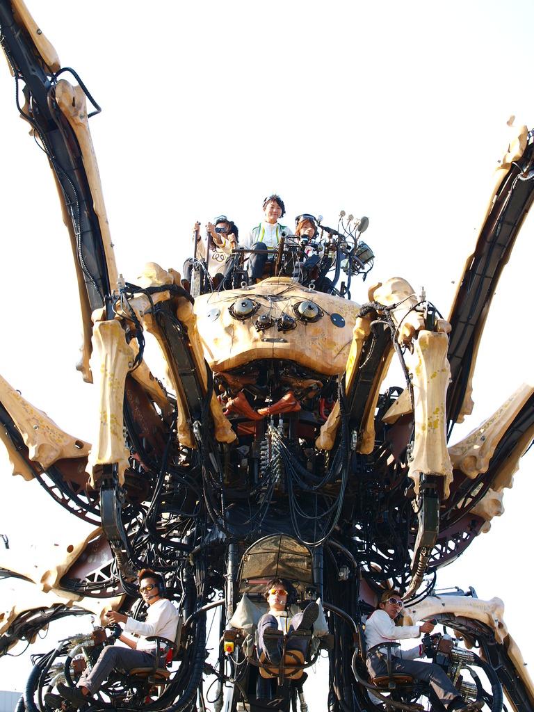 巨大蜘蛛出現ッ!!