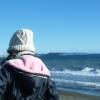 2008年冬の海