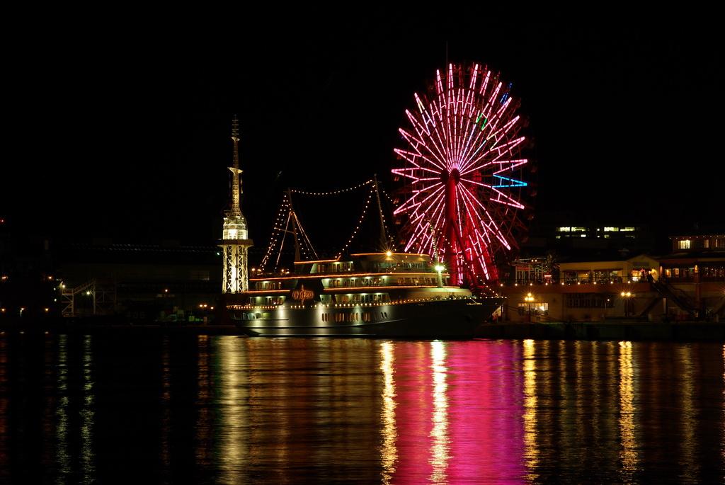 神戸の遊覧船