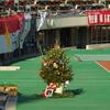 スタジアムもクリスマス