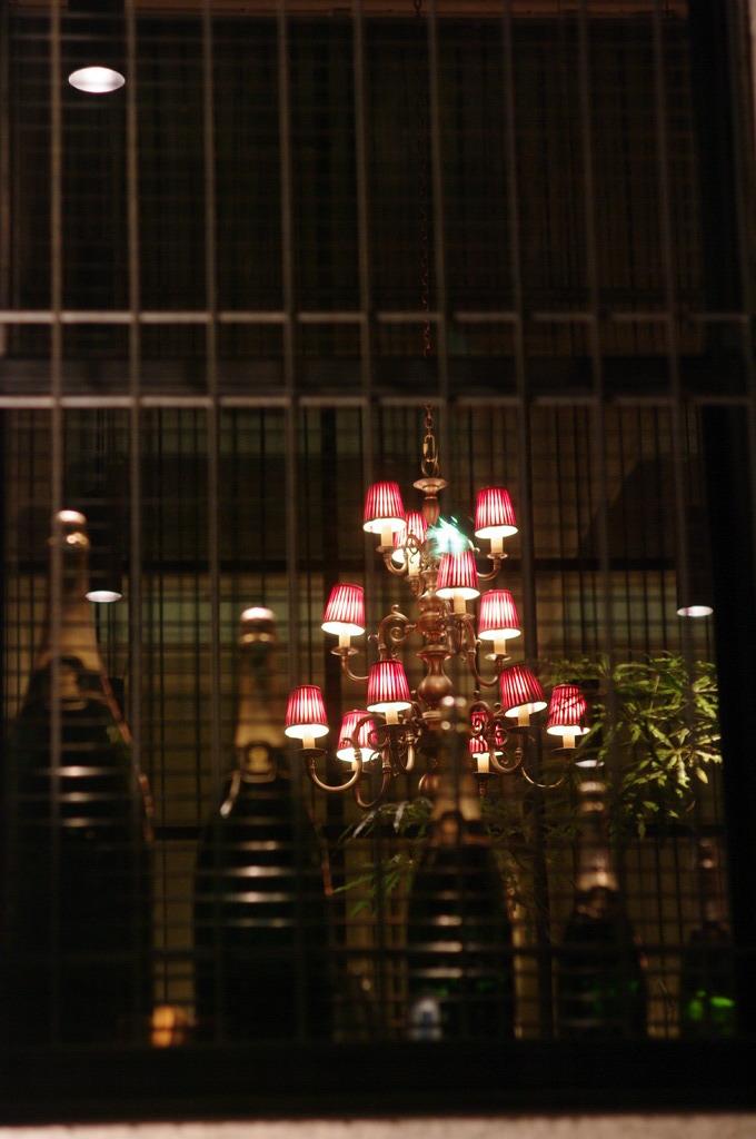 lamp & bottles