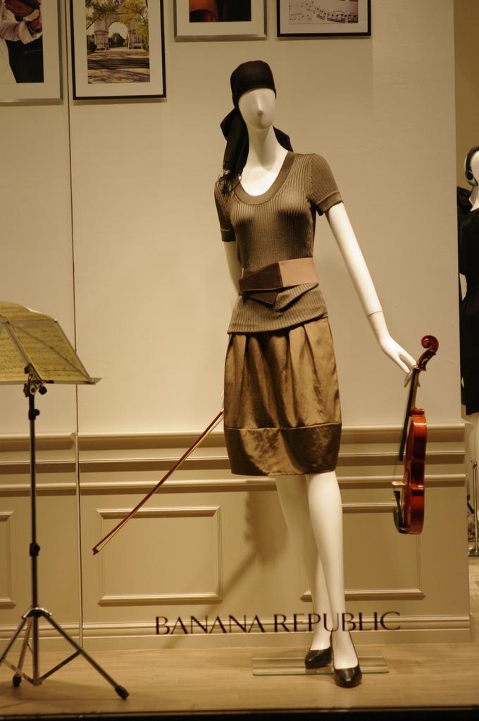 elegant violinist