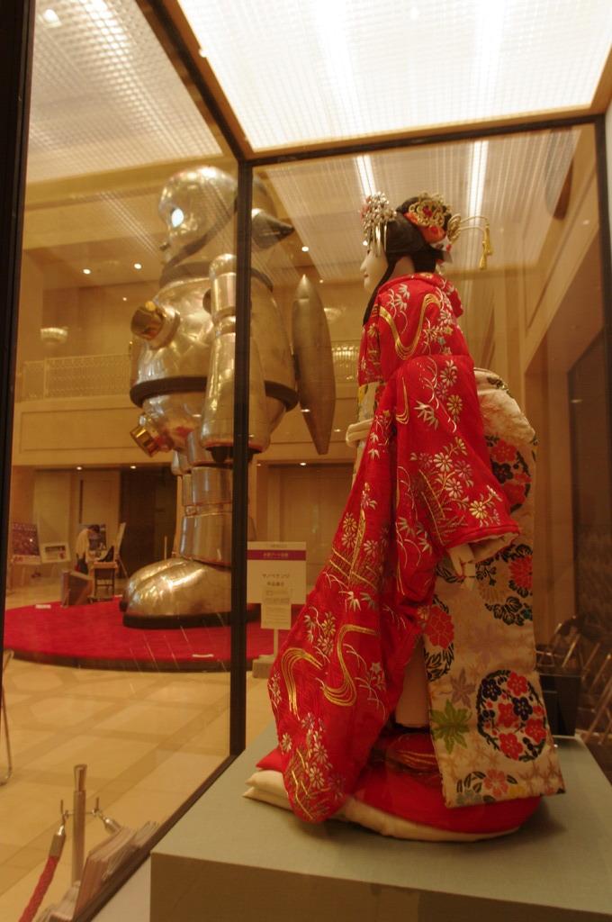 トラやんと人形浄瑠璃
