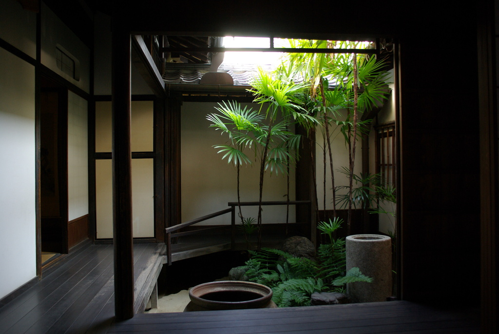 大橋家住宅の坪庭