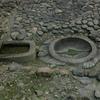 亀形石像物