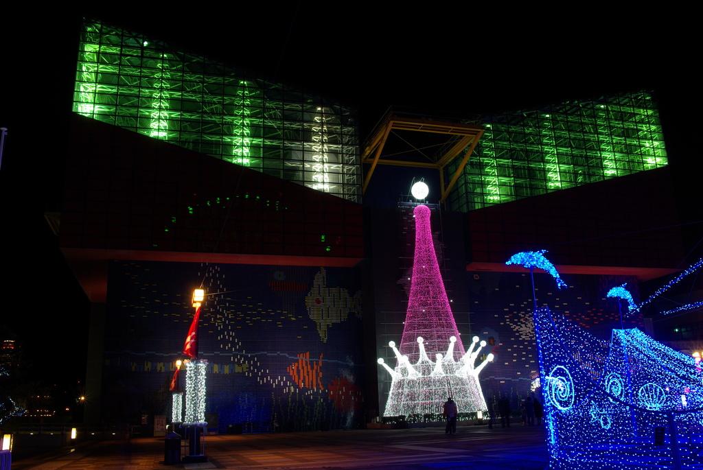 海遊館のクリスマス