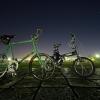 自転車夜景