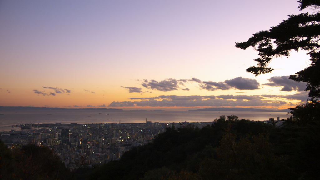 神戸 夕景