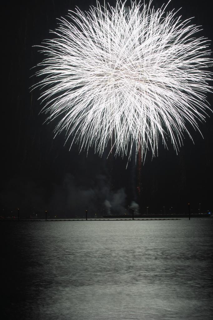 芦屋浜 花火