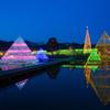 あしかがフラワーパーク「光の花の庭」・水景