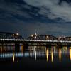 東京スカイツリー「雅」と京成線荒川橋梁