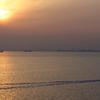 朝の東京湾