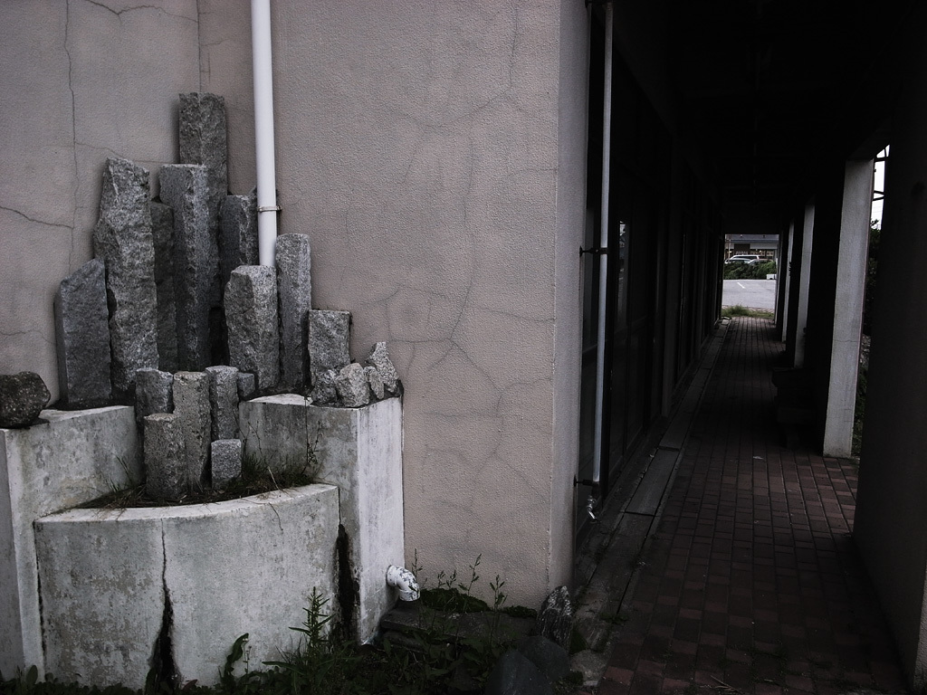 - ruined - stone monument