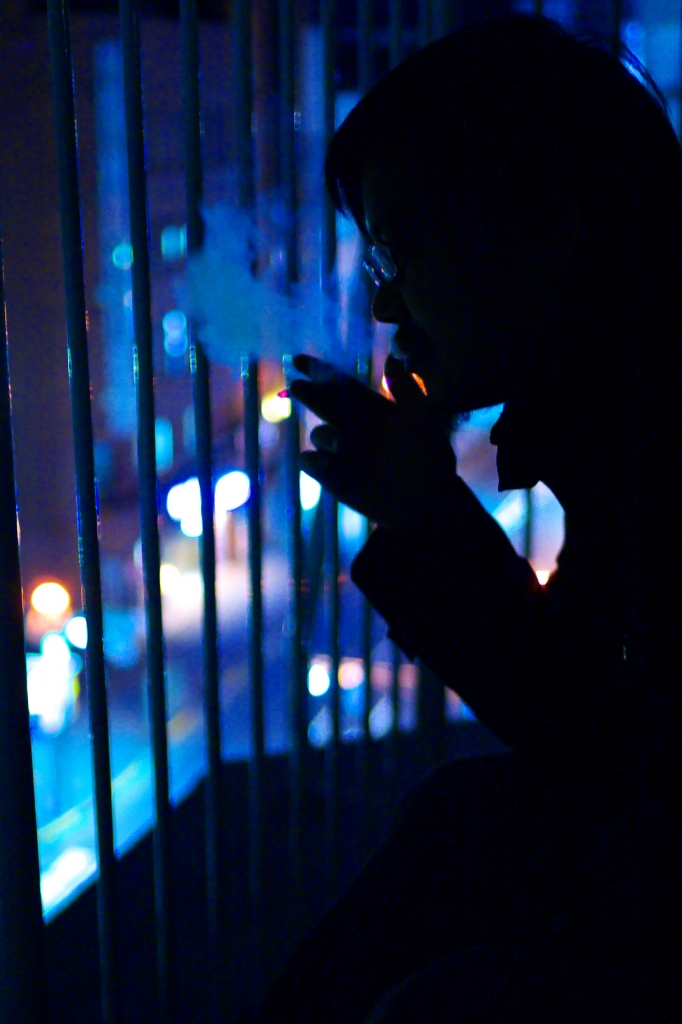night smoking