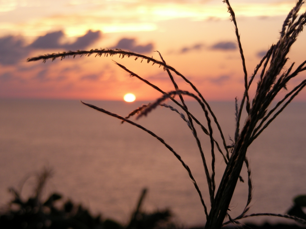 新潟の夕焼け