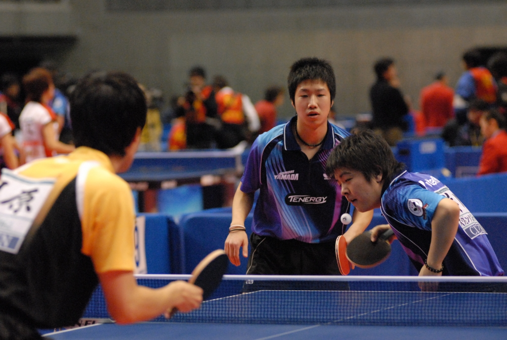 平成19年度全日本卓球選手権大会男子ダブルス