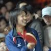 トップ12での平野早矢香(ミキハウス)