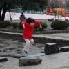 大師公園にて
