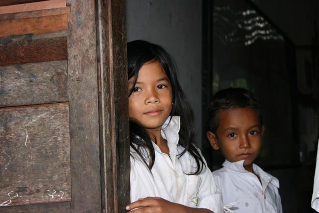 カンボジアの瞳