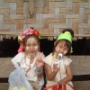 タイ ビルマ国境少女