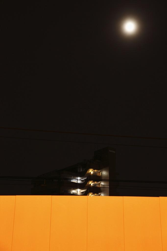 光のキャンバス・黄の上に輝く2