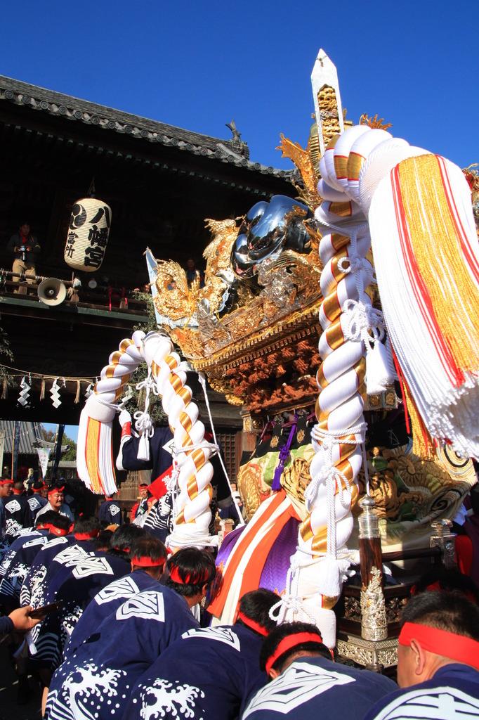 魚吹八幡神社 秋祭り2