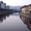 春の小樽運河