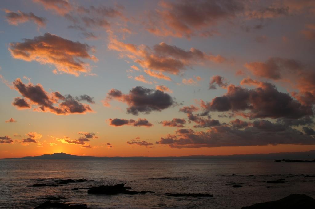 城ヶ島の夕焼け