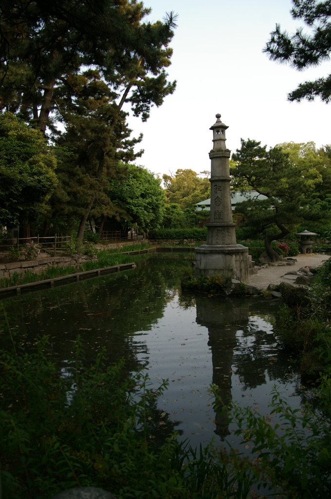 西宮神社の庭
