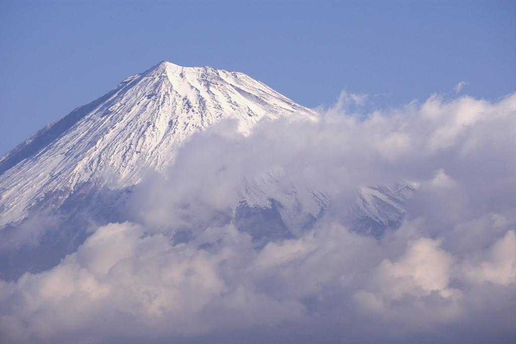 富士川からの富士