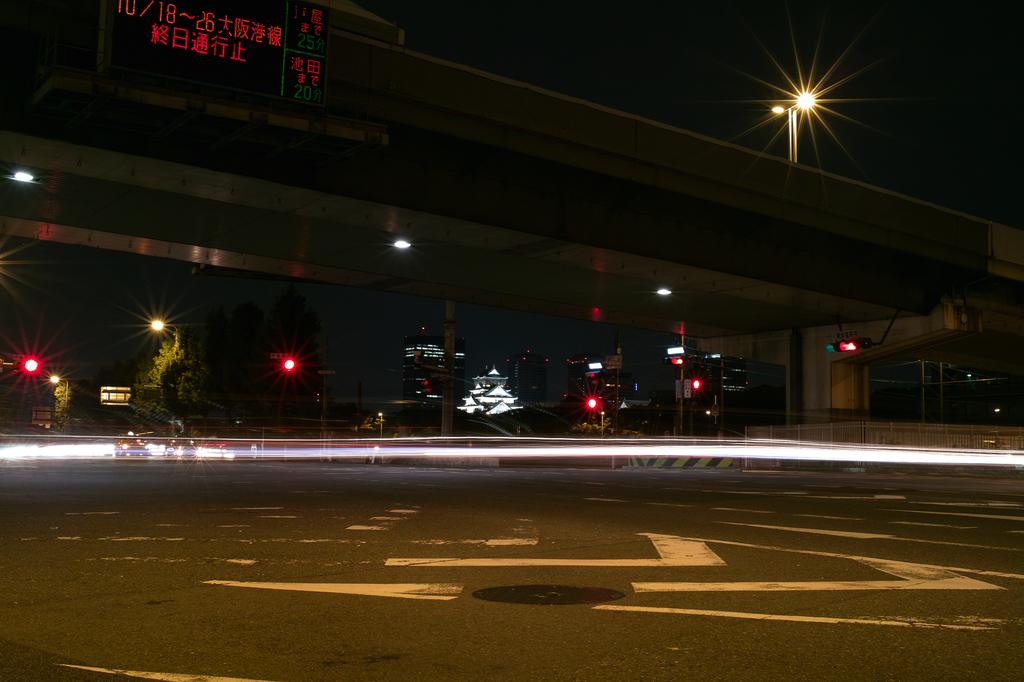 大阪城のある風景
