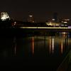 大阪城と環状線