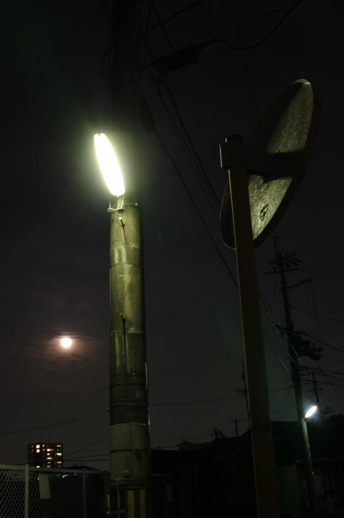 中村町の月