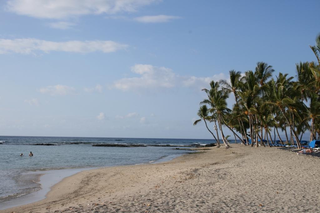 Hawaii島ビーチ!