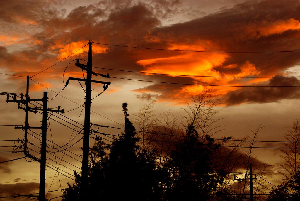 雲の燃えた日2