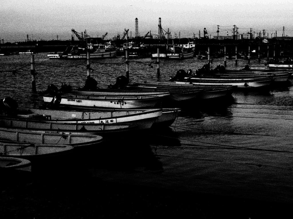 牛込の漁港