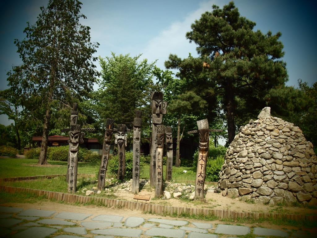 韓国で見た不思議な物