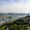 千光寺公園から瀬戸の島々を望む