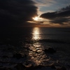 納沙布岬から初日の出